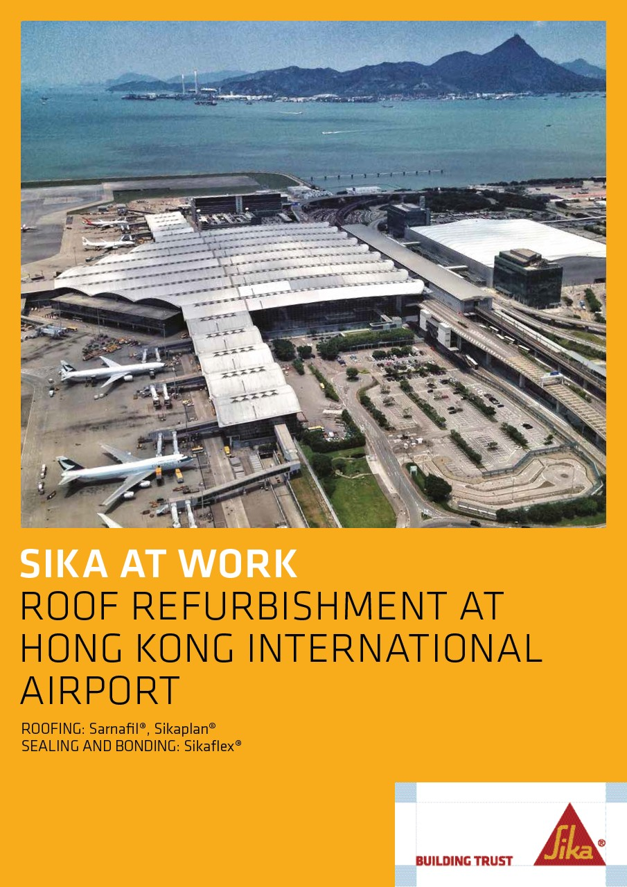Roof Refurbishment at Hong Kong International Airport